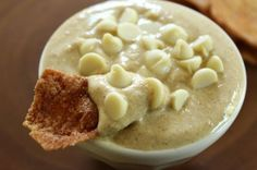 Maple Pumpkin Cannoli Dip from Healthy Food for Living - it only has 2 Tbsp maple syrup for sweetener!