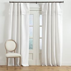 "Ballard Designs Pintuck Pleated Panel with Valance Natural 108"" (655 RON) ❤ liked on Polyvore featuring home, home decor, window treatments, curtains, natural, pleated valance, ballard designs, sun panels, linen panels and pleated panels"