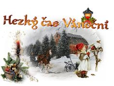 Vánoční přání s konmi 2012 | Krása jménem Kůn
