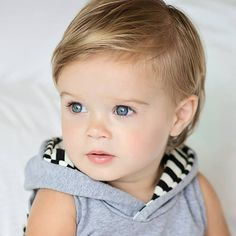 Best Baby Boy Haircuts For One Year Old - Best Haircuts For Little Boys - Cute and Adorable Boys Hairstyles Cuts and Styles - Cool Fades Undercut Faux Hawk Mohawk Quiff and Comb Over Boys Haircuts Boys First Haircut, Baby Haircut, Toddler Boy Haircuts, Toddler Boys, Kids Boys, Baby Hair Gel, Natural Hair Babies, Little Boy Hairstyles, Cool Mens Haircuts