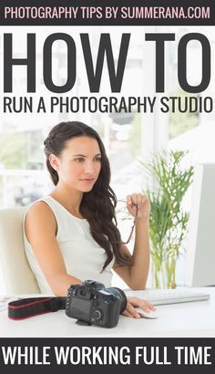 How to Run a Photography Studio While Working Full Time Starting a business on your own is scary. Most photographers will come to a point in their lives where they must decide whether they carry on with photography as just a hobby, or whether they turn i