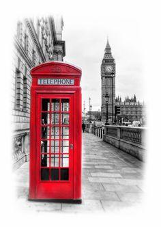 Telephone Box by Mark Swindells, via 500px