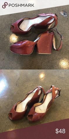 Heels Perfect fall color! Maison Martin Margiela Shoes