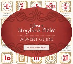 The Jesus Storybook Bible Advent Guide - free download - Sally Lloyd-Jones Christmas Bible, Meaning Of Christmas, Toddler Christmas, A Christmas Story, Christmas Tea, Christmas Things, Simple Christmas, Christmas Decor, Devotions For Kids