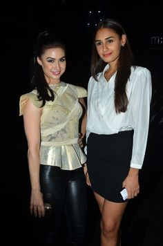 Jhalak fame Lauren Gottlieb and Hasleen Kaur at The L'Officiel Party #Bollywood #Fashion #Style #Beauty #Page3