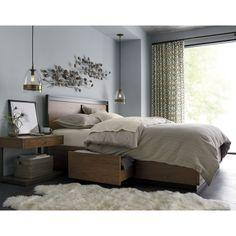 Blair Queen Storage Bed | Crate and Barrel