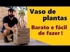 Como fazer vaso de cerâmica ou vaso de porcelanato, para plantas. Com restos de peças - DIY - YouTube