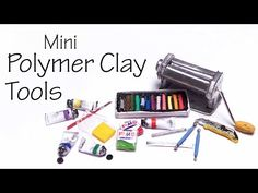 Tiny Polymer Clay & Tools - Polymer Clay Tutorial - YouTube