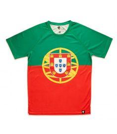 camiseta running hombre Portugal Hoopoe Running Apparel