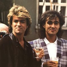 WHAM! #Georgemichael...George was so cute during the Wham! Years..so innocent & beautiful