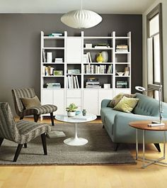 Addison Wall Units - Bookcases  Shelves - Living - Room  Board.