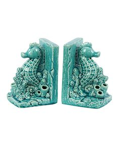 Sea Horse Bookends ==