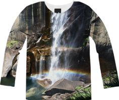 Vernal Falls Long Sleeve Tee from Print All Over Me