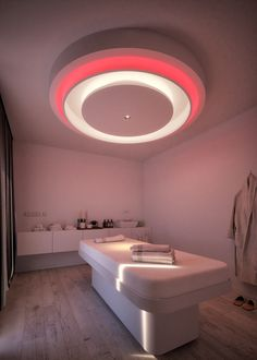 This was a project different designs and lighting moods for a spa treatment room. Spa Treatment Room, Spa Treatments, Parlour Design, Salon Interior Design, Interior Ideas, Spa Rooms, Massage Parlors, Massage Room, Home Spa