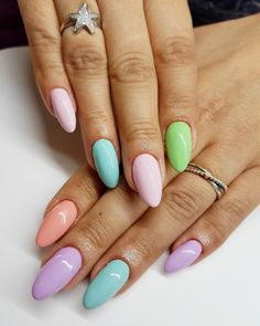 Summer Nails Gel 2017