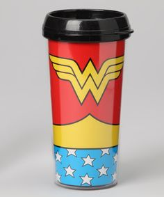 Take a look at this Wonder Woman Travel Mug on zulily today!
