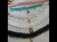 P2 - TEJE CINTAS PARA CUELLO - Crochet fácil y rápido - Yo Tejo con LAURA CEPEDA - YouTube