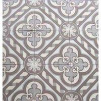 Classic pattern tile, encaustic cement tile in subtle colors