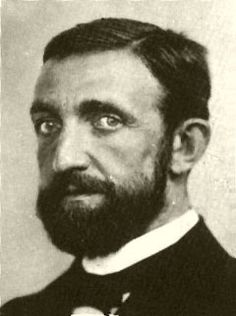 Philipp Lenard 1905 Nobel Prize in Physics for his work with cathode rays. Solid beard.