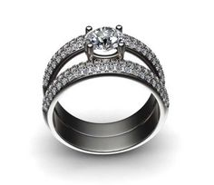 Bague Solitaire Diamant Ivresse Or Blanc 18K - Ruedelapaix.com