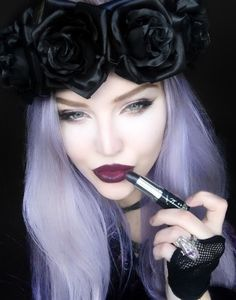 Lethal Lipstick Goth Glam Rock New by manic panic #16