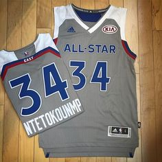 New Arrival | Adidas Basketball | Giannis 2017 NBA All Star Game Swingman Jersey | Grey | Men's Sizes S-XXL | $125 | Available now in-store & online here: https://www.moda3.com/adidas-jrsy-2017-giannis-asg.html #adidas #giannis #allstargame2017 #MODA3 #bucks #fearthedeer #greekfreak #ownthefuture #milwaukee #NBA #basketball #votegiannis #swingmanjersey #giannisantetokounmpo #milwaukeebucks