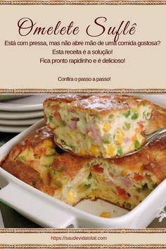 Egg Recipes, Cooking Recipes, Easy Healthy Recipes, Easy Meals, Portuguese Recipes, Foodblogger, Food Gifts, Diy Food, Food Videos