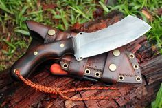 "The ""Algol"". A great looking full-tang, cleaver style knife."