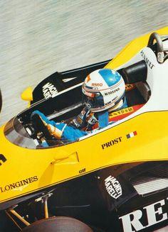 #15 Alain Prost...Equipe Renault Elf...Renault RE40...Motor Renault EF1 V6 t 1.5...GP Monaco 1983
