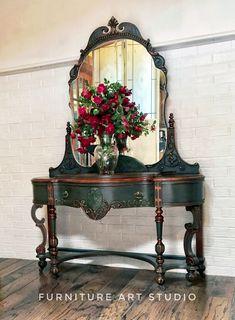Antique Furniture Decor Tiny Home Furniture Upcycled Furniture, Rustic Furniture, Antique Furniture, Cool Furniture, Modern Furniture, Antique Desk, Antique Chairs, Antique Dressers, Furniture Movers