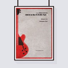 Back to the Future Part II Inspired Minimalist Alternative Movie Print & Poster by CelluloidJunkie on Etsy https://www.etsy.com/listing/200342625/back-to-the-future-part-ii-inspired