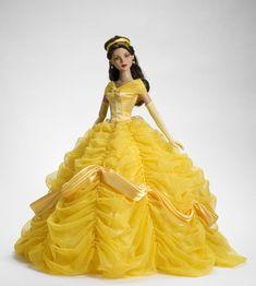 Barbie Bellissime (NO patterns) - trilli. Disney Barbie Dolls, Barbie Fashionista Dolls, Disney Princess Dolls, Princess Belle, Disney Princesses, Barbie Gowns, Barbie Dress, Barbie Clothes, Barbie Style