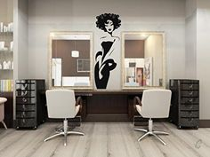 Wall Decal Vinyl Sticker Sexy Girls Woman Face Beauty Salon Nail Fashion B406 CreativeWallDecals http://www.amazon.com/dp/B00XL0UVLY/ref=cm_sw_r_pi_dp_Gywzvb02M6VGZ