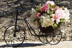A Bicycle Built for Flowers by LoneStarPetals on Etsy, $79.95