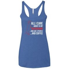 All I Care About Is My Dachshund Triblend Racerback Tank Top