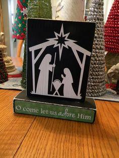 Go Ahead & Craft: Nativity Wood
