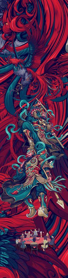 58 Ideas pop art wallpaper illustrators behance for 2019 Japanese Art, Psychedelic Art, Fantasy Art, Samurai Artwork, Samurai Art, Graffiti Wallpaper, Japanese Tattoo Art, Art Wallpaper, Pop Art Wallpaper