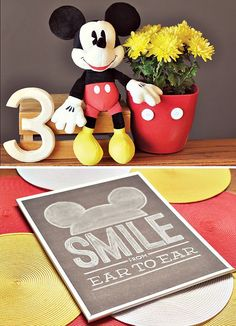Mickey Mouse Party Decorations