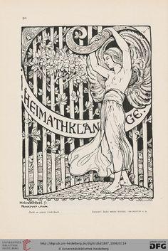 German Art and Decoration: illustr. Monatshefte for modern painting, sculpture, architecture, house Art & Artistic Women's work. - 1.1897-1898