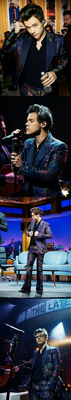 Harry Styles Megapin: Day 1 of Harry Week on The Late Late Show with James Corden
