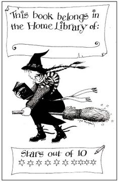 Free book plates by wonderful authors. This is my favourite by Jill Murphy 'The Worst Witch' Jace Wayland Quotes, Jill Murphy, Books To Read, My Books, Scott Fitzgerald Quotes, The Worst Witch, Book Of Shadows, Book Nerd, Free Books