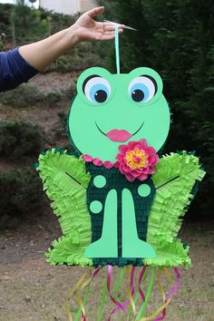 Girl Froggy Pinata by AbitaAchie on Etsy, $50.00
