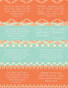 The Blogging Pastors Wife: Printable Verse Cards