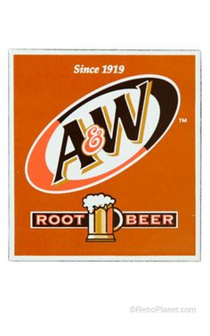 a root beer sign