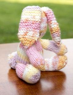 Bunny Rabbit Stuffed Animal Free Knitting Pattern