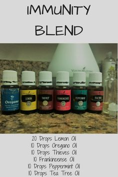 This blend of essential oils is great to support a healthy immune system. I apply this to my family twice a day to support ours!