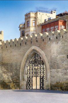 Entry in the Wall of Baku, Azerbaijan