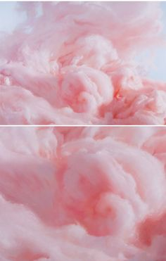 cotton candy clouds - painting by will cotton - i just want to roll around on that!