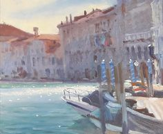 Abstract Landscape, Venice, Painting, Art, Art Background, Venice Italy, Painting Art, Kunst, Paintings