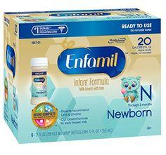 Enfamil  Newborn Baby Formula  2 fl oz Plastic Nursette Bottles6 Count Pack of 4 *** See this great product.